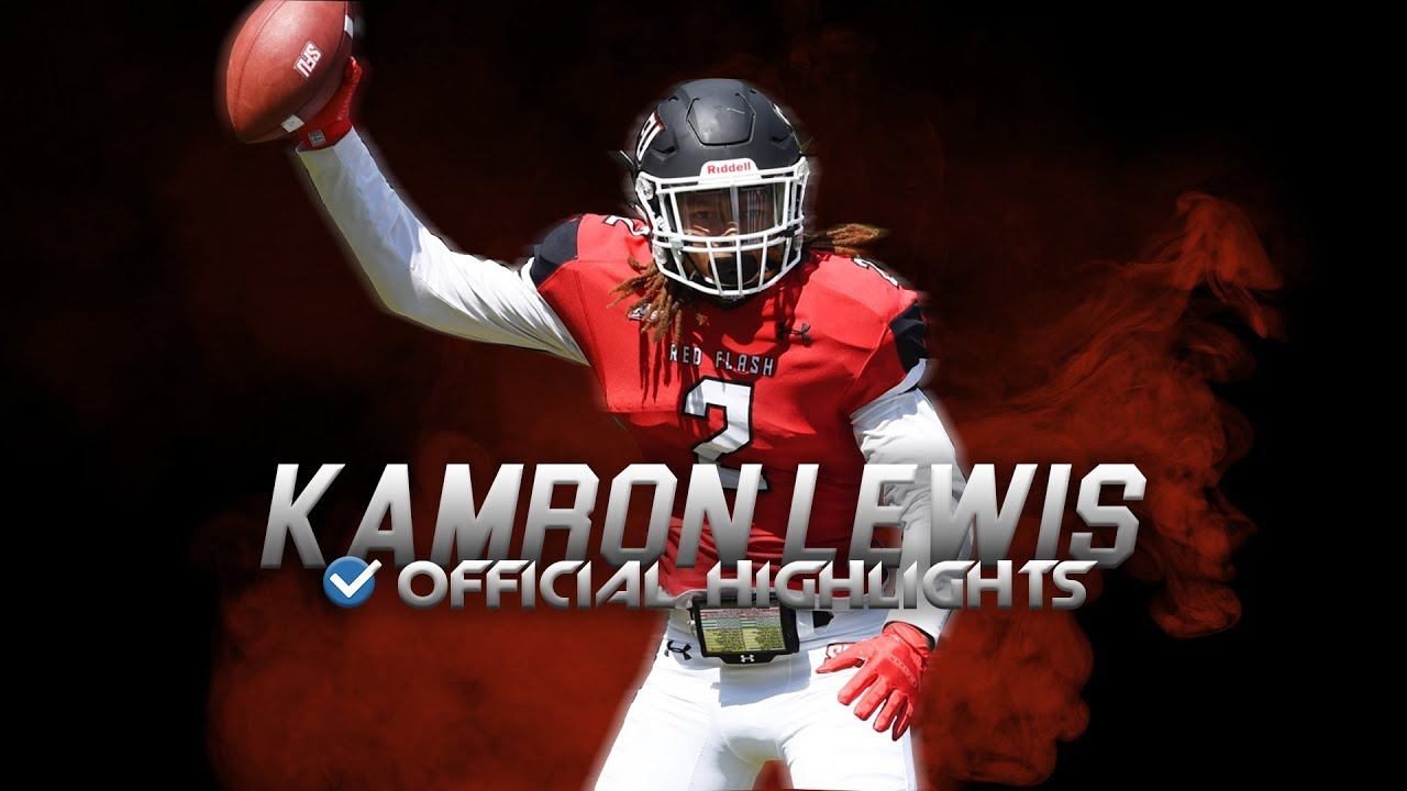 Future NFL Draft STEAL - Kamron Lewis Official St. Francis Highlights ᴴᴰ