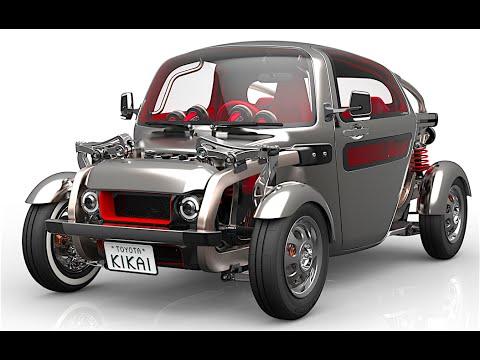 Toyota Kikai 3 Seater Hot Rod VW Beetle Concept Tokyo Motor Show Commercial CARJAM TV HD