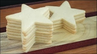 How To Make Rolled Cut-out Sugar Cookies For Decorating