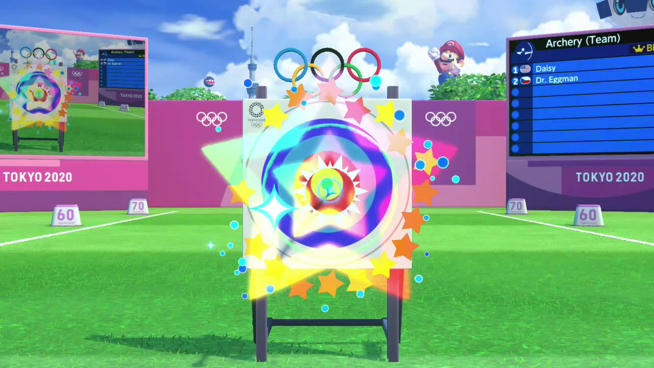 Mario & Sonic at the Olympic Games (DS) - Archery - YouTube