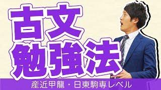 産近甲龍・日東駒専レベル【私立大学受験合格メソッド~古文~】 この動...