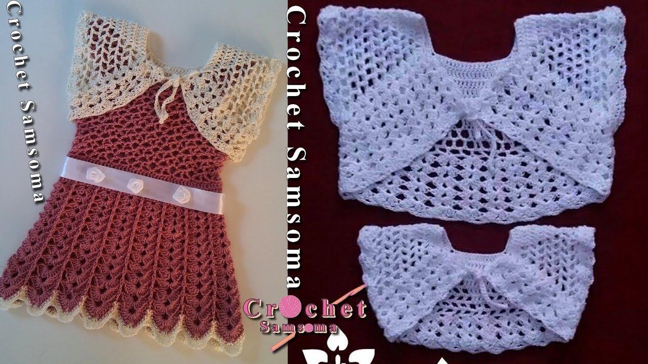كروشيه بوليرو صيفي Crochet Bolero Youtube