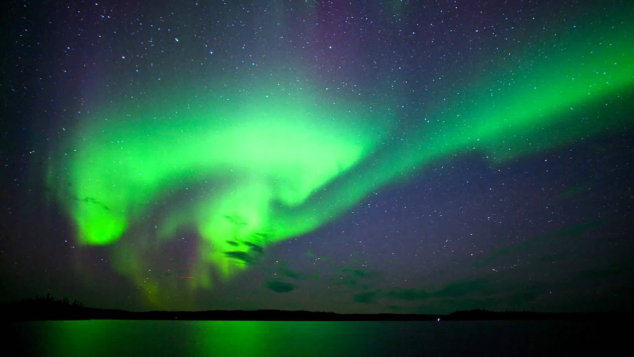 Aurora Borealis   Northern Lights Yellowknife, NWT   YouTube Gallery