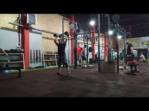 CrossFit training / Кросфит тренировка