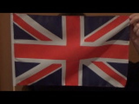 """The FLAG OF UNITED KINGDOM OF GREAT BRITAIN - """"UNION-JACK"""""""