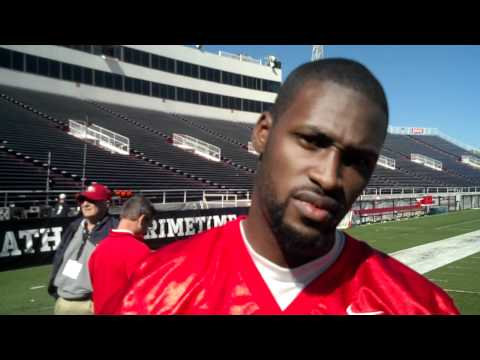 AJ Jenkins Senior Bowl Interview