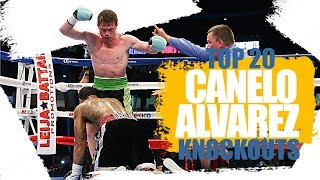 Top 20 Canelo Alvarez Knockouts | OBSESSED