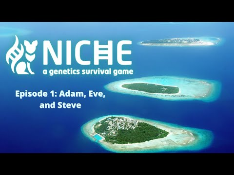 Niche-A Genetics Survival Game: #1 Adam, Eve, and Steve