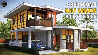 Amakan House Design | 3 Bedroom 2 Storey House