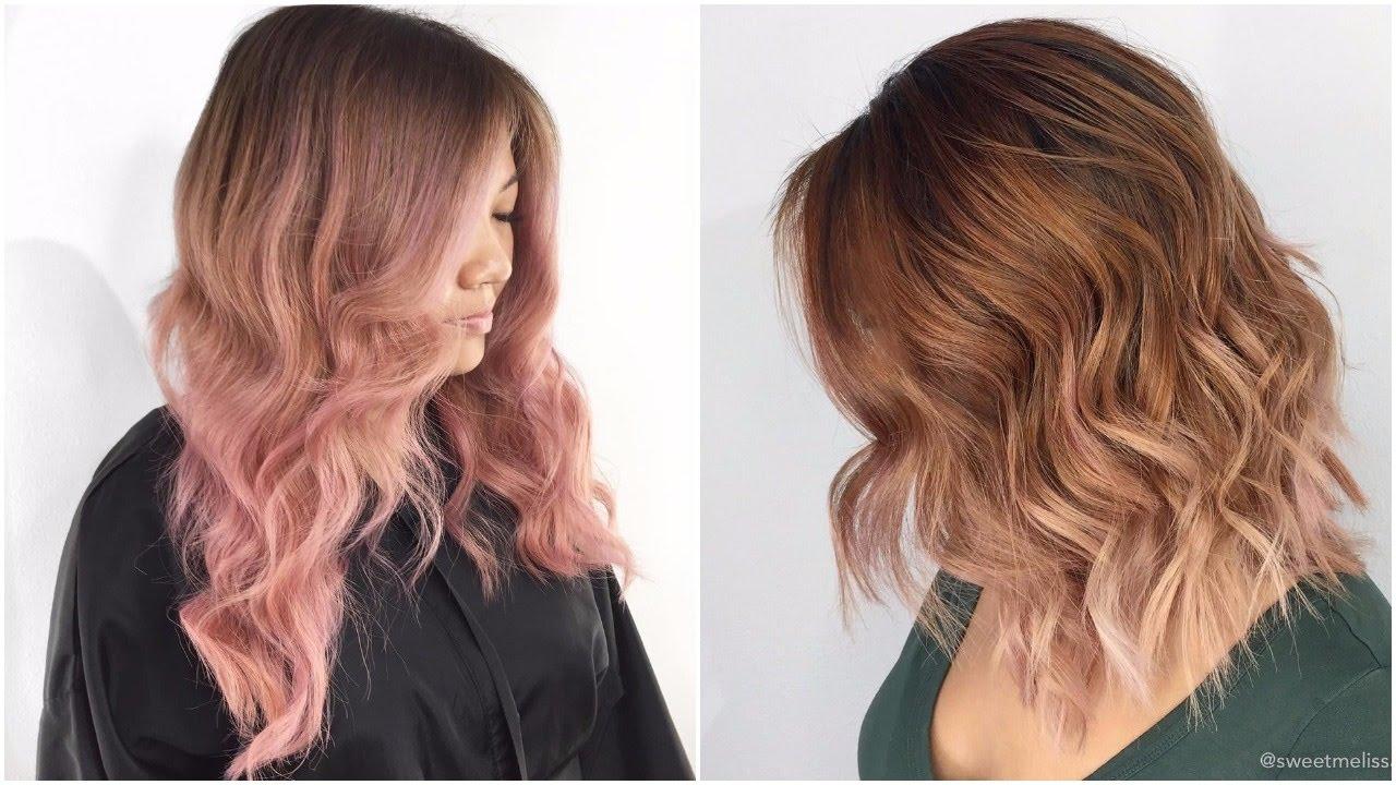 5 Hair Color Trends For Spring Best Spring Hair Dye Ideas Youtube