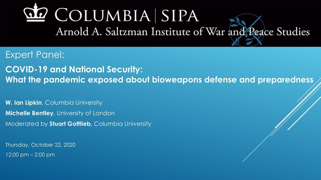 COVID-19 & National Security: What the Pandemic Exposed About Bioweapons Defense and Preparedness