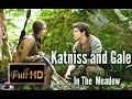 The Hunger Games Scenes - Katniss and Gale in the meadow