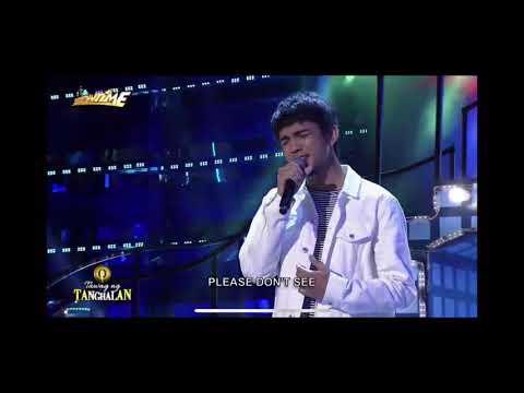 Tawag ng Tanghalan Chad binoya - lost stars