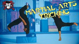 Martial Arts Tricking Sampler (cheat 900, Touch down razi, swing through, cork, btwist, gainer hook)