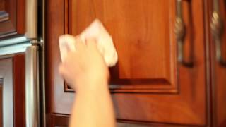 How To Remove Greasy Film From Kitchen Cabinets : Home Cleaning Tips