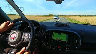 """Fiat 500L 2017 : séance conduite """"sportive"""" moteur TwinAir"""