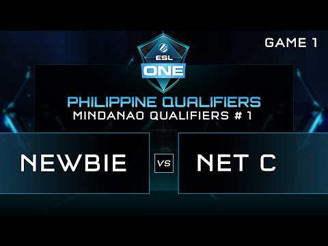 ESL One Manila - Mindanao Qualifiers - NEWBIE vs NET C - Game 1 - Bo3 | Caster DENKI