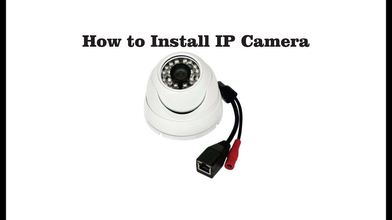 How to connect an IP camera 56