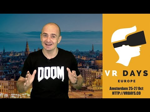 VR DAYS IN AMSTERDAM - Join me there and let's have some fun! | Channel Update