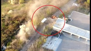 ВСУ уничтожили грузовик УРАЛ боевиков