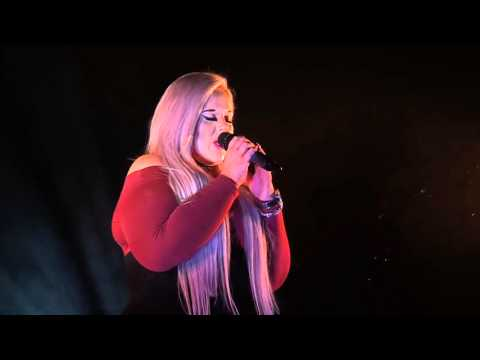SIA - CHANDALIER performed by HANNAH at the Dewsbury Area Final of Open Mic UK 2015