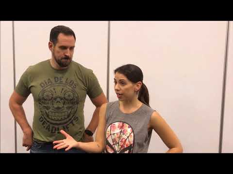 Travis Willingham and Laura Bailey  Supanova Adelaide 2017