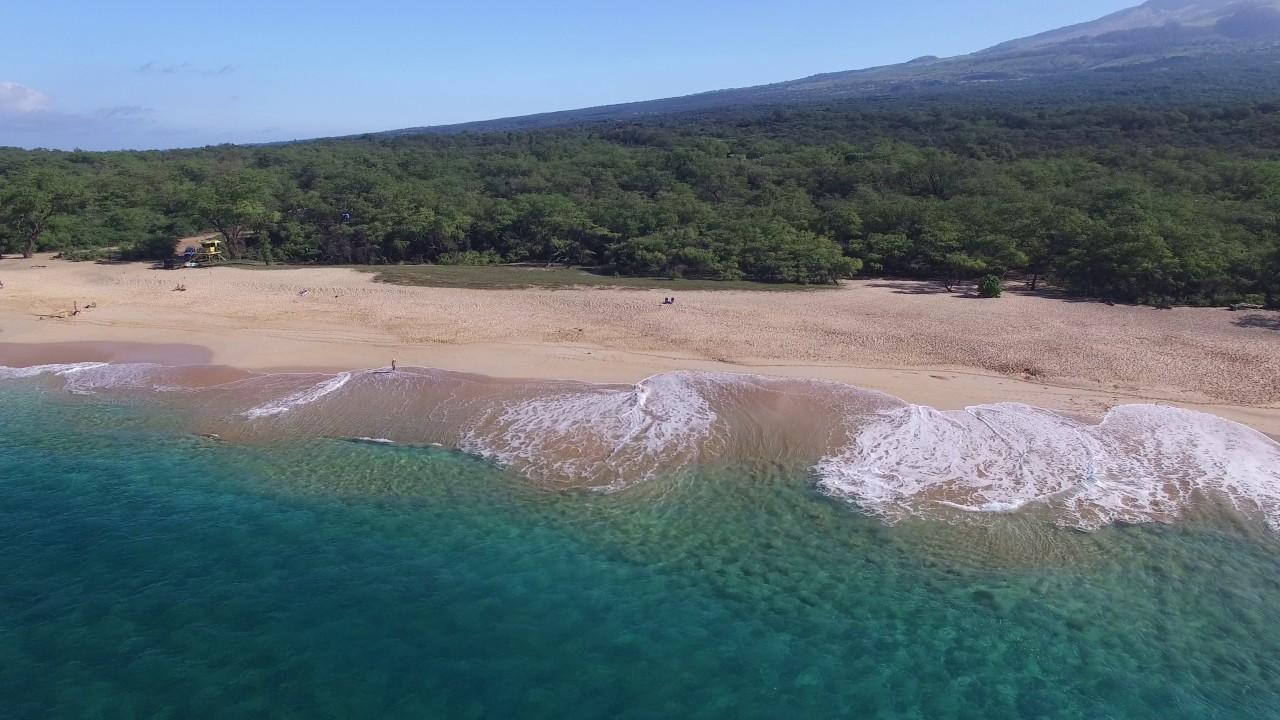 Makena Beach Maui Hawaii Feb 2017 4k