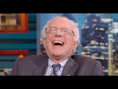 "Thumbnail: Watch: Bernie Sanders laughs at Trump for just realizing that ""'Healthcare is complicated"""