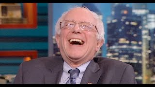 Watch: Bernie Sanders laughs at Trump for just realizing that ""