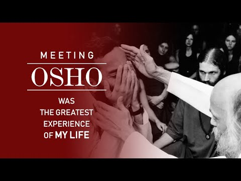 My First Meeting With Osho