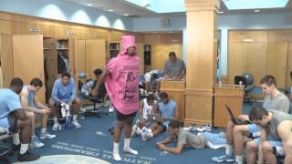 North Carolina Basketball Harlem Shake