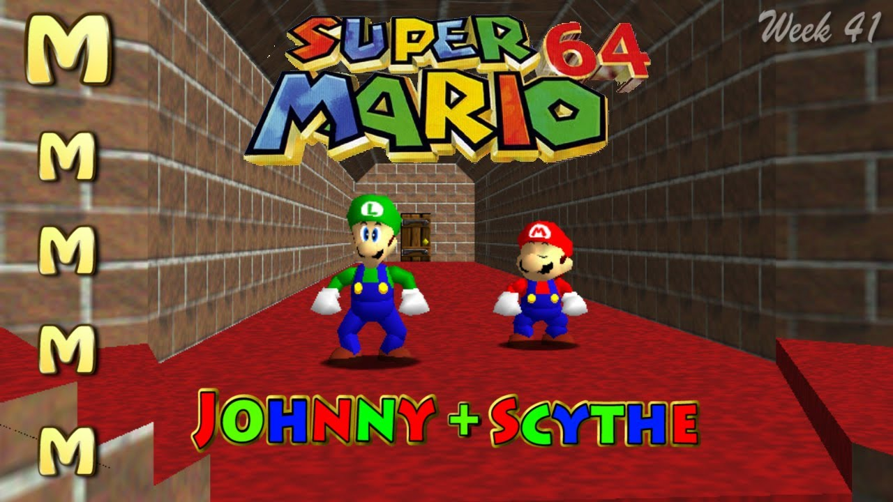Lets Play Super Mario 64 Co Op 2 W Multiplayer Mod 12 W41
