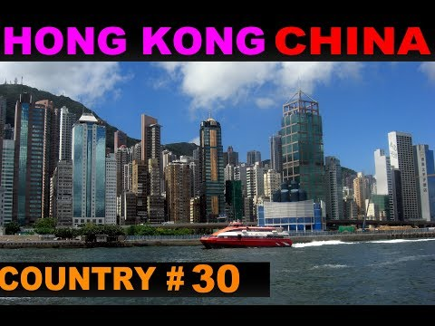 A Tourist's Guide to Hong Kong, China
