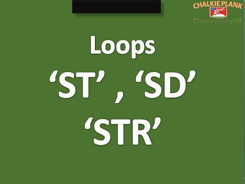 Loops in shorthand