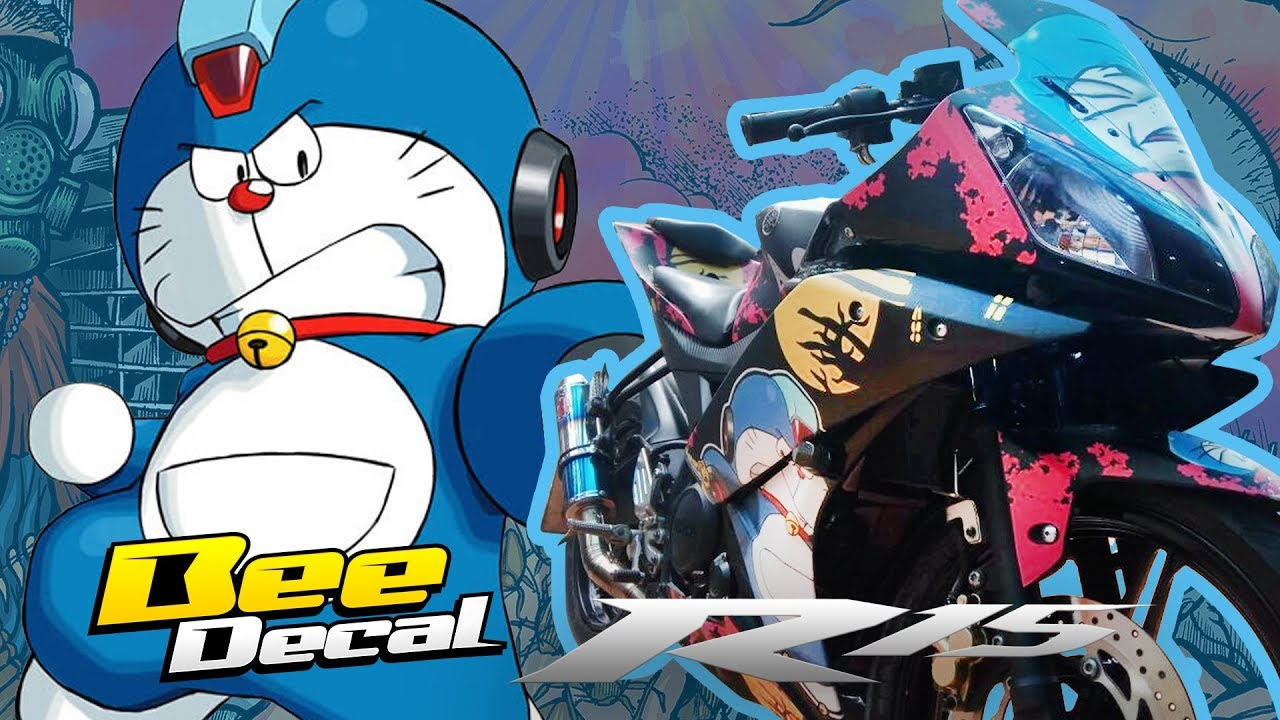 Modifikasi Stiker Motor Yamaha R15   BeeDecal - YouTube