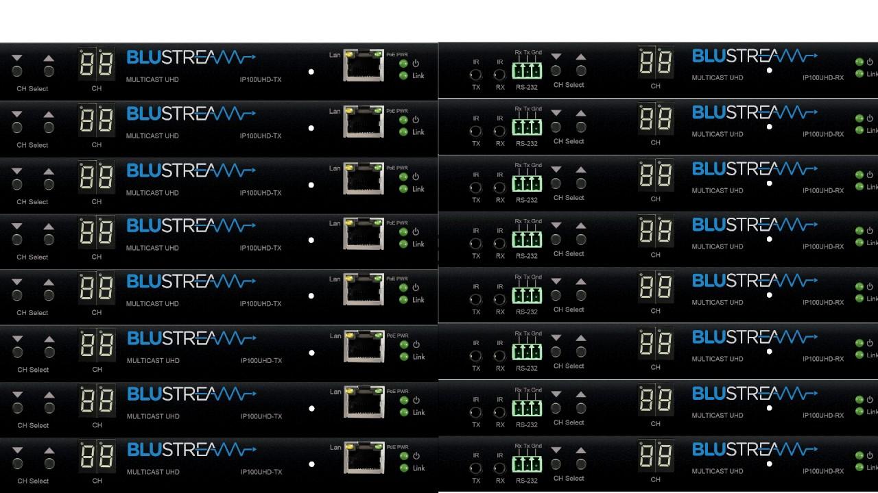 Blustream Multicast - UHD Video over IP