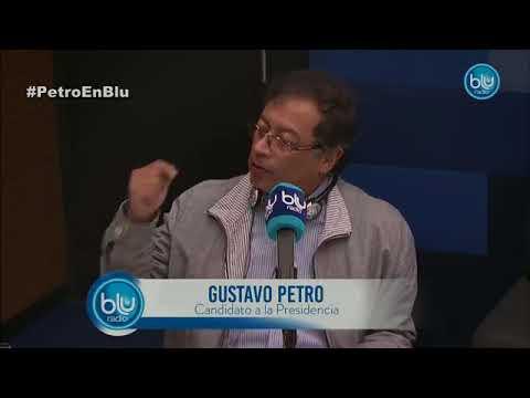 Gustavo Petro habló en Mañanas BLU sobre su cierre de campaña y aspiraciones presidenciales