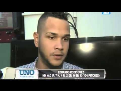 Eduardo Rodriguez Jokes He Made 'A Cristiano Ronaldo Pass' After Being Hit (Video)