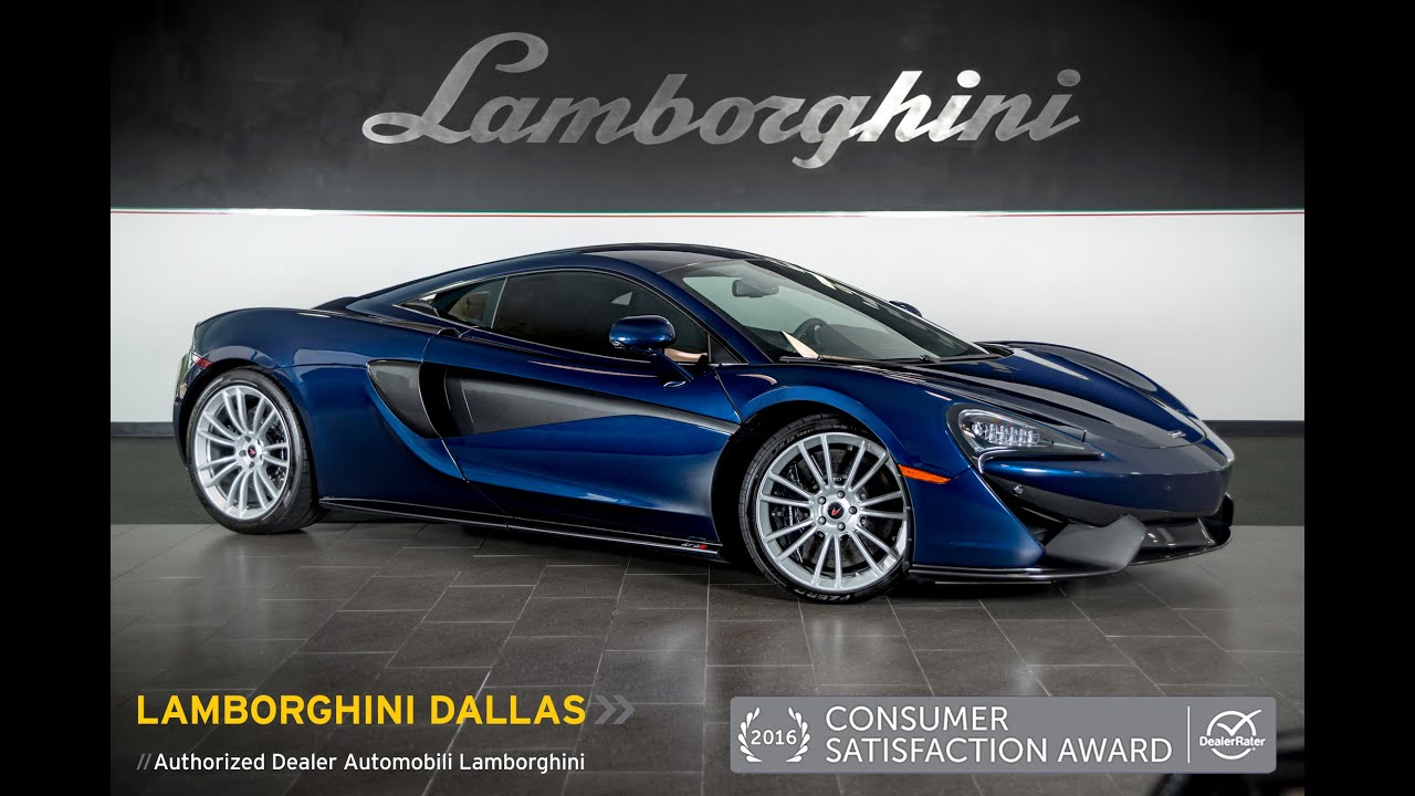 2016 McLaren 570S Blue Metallic LT0933 - YouTube