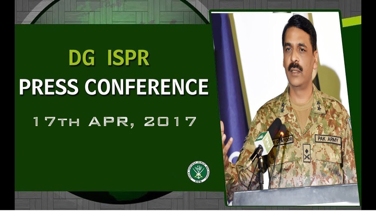 DG ISPR Press Conference -17th April, 2017 (ISPR Official)
