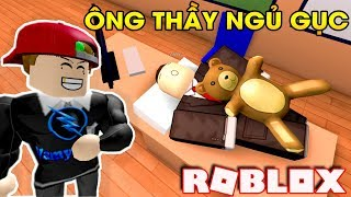 ROBLOX | Hid His Summer Master Classes Bear Hug Asleep In Class | Escape School Obby | Vamy Tran