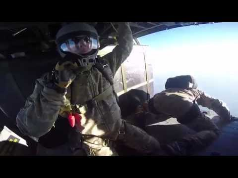 Pararescue HALO Jump