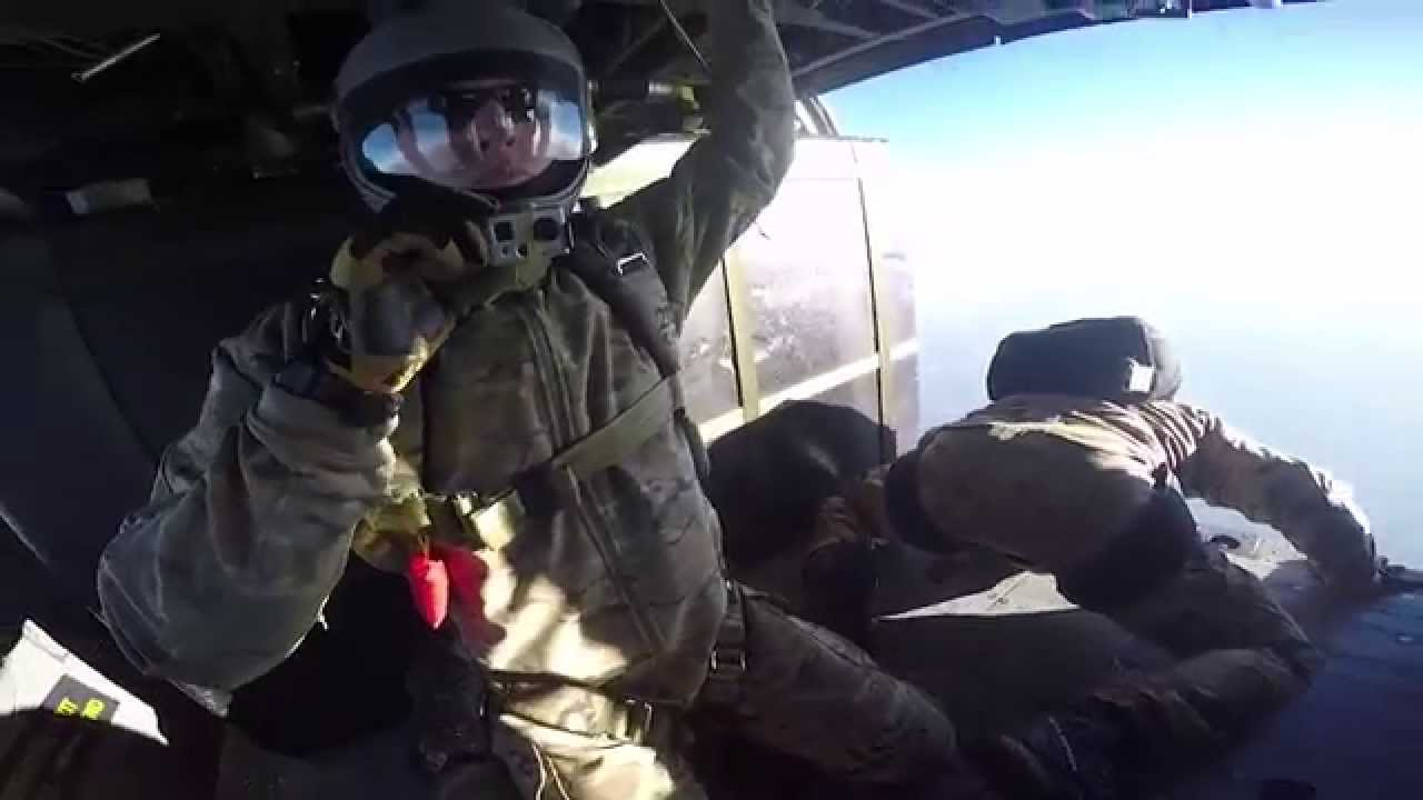 Pararescue HALO Jump. United States Air Force