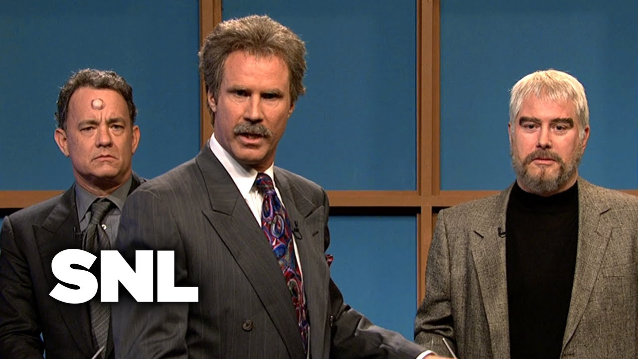 Will Ferrell (as Alex Trebek) and Darrell Hammond (as Sean ...