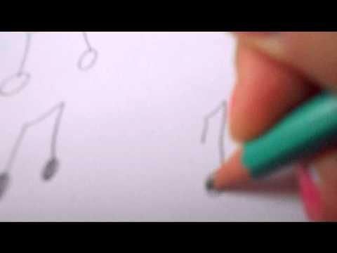 dessiner des note de musique
