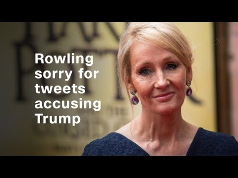 J.K. Rowling sorry for tweets accusing Trump
