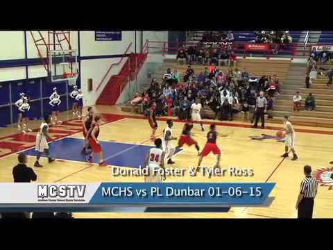 Madison Central High Schol boys basketball vs PL Dunbar 01-06-14
