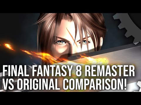 Video: Digital Foundry Takes A Look At Final Fantasy VIII