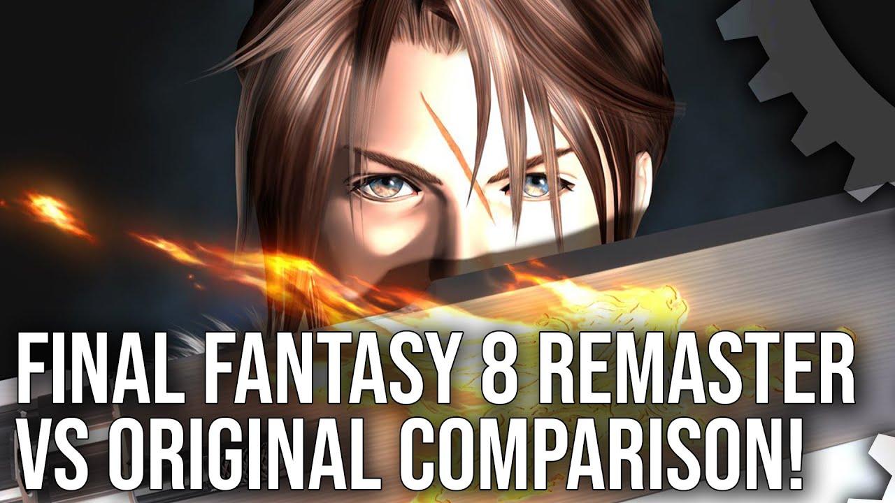 Στο γνωστό μικροσκόπιο του Digital Foundry το Final Fantasy VIII Remastered