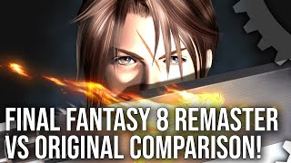 Final Fantasy 8 Remastered vs Original Comparison - The Definitive Version?